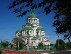 Собор святого Владимира — Астрахань, улица Генерала Епишева, 4
