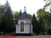 Часовня Державной иконы Божией Матери — Биробиджан, сквер Победы