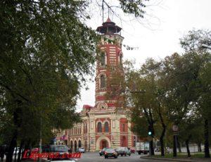 Здание Царицынской пожарной команды — Волгоград, улица Коммунистическая, 5