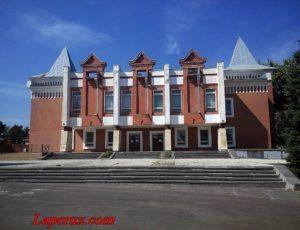 Балашовский краеведческий музей — Балашов, парк имени Куйбышева