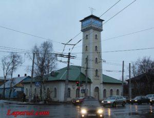Пожарная каланча — Вологда, улица Чернышевского, 33