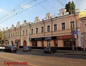 Бывший чайный магазин Т.Д. Тименкова — Саратов, улица Московская, 75