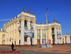 Железнодорожный вокзал Воронеж-I — Воронеж, площадь Черняховского, 1
