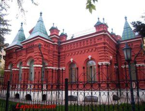 Мемориально-исторический музей — Волгоград, улица Гоголя, 10