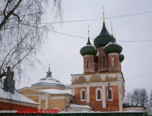 Церковь Владимирской иконы Божьей Матери — Нерехта, улица Ленина, 28Б