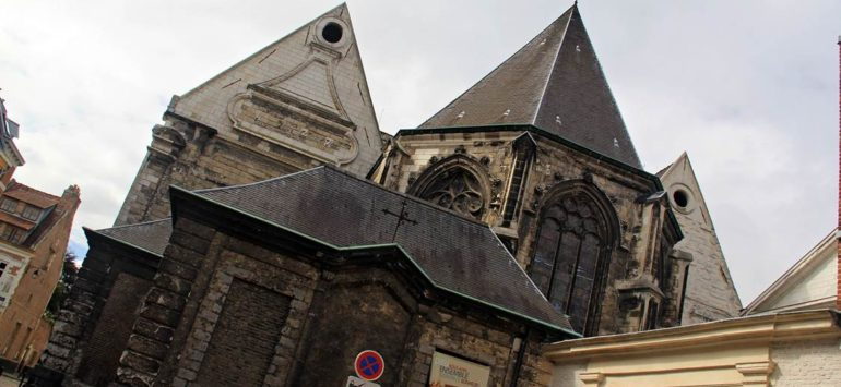 Церковь святой Екатерины (Eglise Sainte-Catherine de Lille) — Лилль, Terrasse Sainte-Catherine