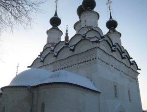 Лазаревская церковь — Суздаль, улица Ленина, 75