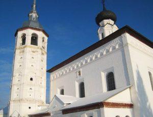 Церковь Воскресения на торгу (Воскресенская церковь) — Суздаль, Торговая площадь, 1