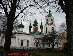 Вознесенская церковь — Ярославль, Волжская набережная, 51