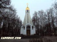 Часовня-памятник в честь 900-летия Рязани — Рязань, Соборная площадь, 13с1