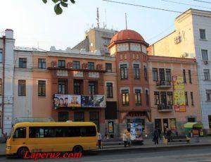 Доходный дом В.Ф. Зандау — Хабаровск, улица Муравьёва-Амурского, 34