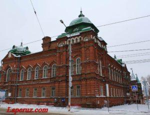 Дом уездного земства (Дом офицеров) — Ульяновск, улица Спасская, 17