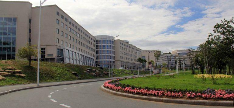 Кампус ДВФУ на острове Русский: современность — как достопримечательность