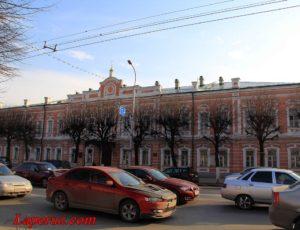 Духовное училище (Гимназия №2 имени И.П. Павлова) — Рязань, улица Соборная, 7