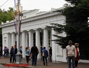 Графская пристань — Севастополь, площадь Нахимова