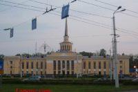 Железнодорожный вокзал — Петрозаводск, площадь Гагарина, 3