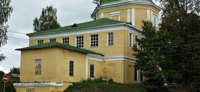 Церковь Воздвижения Честного Креста Господня — Торжок, улица Степана Разина, 32