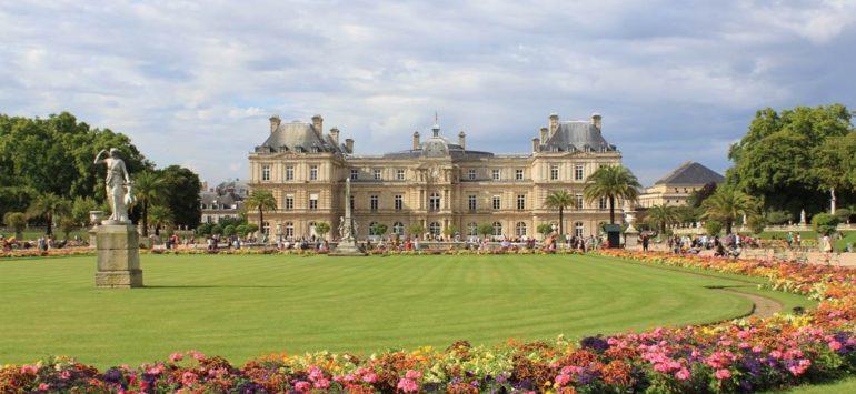 Тихий парк: Люксембургский сад в Париже