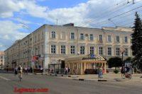 Здание присутственных мест — Тамбов, улица Советская, 118