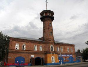 Пожарная каланча — Хвалынск, улица Советская, 51