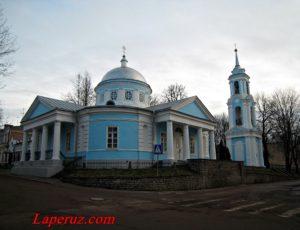 Церковь Успения Пресвятой Богородицы с Полонища — Псков, улица Георгиевская, 3