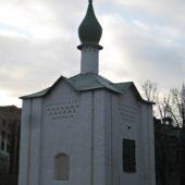 Во Пскове осыпается роспись по эскизам Николая Рериха