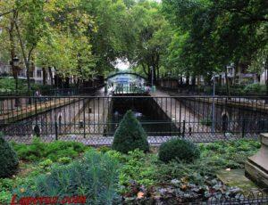 Блинчики от Амели: прогулка вдоль парижского канала Сен-Мартен