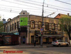 Магазин и мастерская А. Блюм — Саратов, проспект Кирова, 20