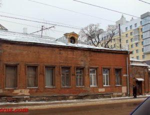Главный дом усадьбы А.И. Башкировой — Нижний Новгород, улица Большая Печёрская, 13