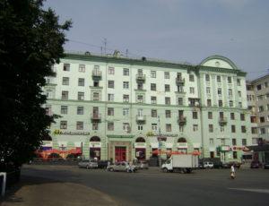 Жилой дом — Нижний Новгород, площадь Горького, 2