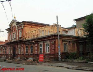 Здание бывшей Свято-Владимирской богадельни — Саратов, улица Лермонтова, 14