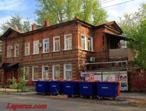 Усадьба журналиста и издателя И.П. Горизонтова — Саратов, улица Рабочая, 51