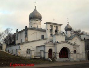 Церковь Варлаама Хутынского — Псков, улица Леона Поземского, 53