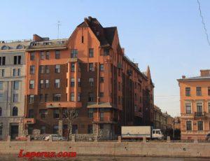 Доходный дом К.И. Капустина — Санкт-Петербург, набережная Фонтанки, 159