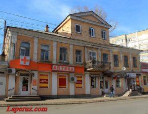 Дом О.Ф. Горбунова — Саратов, улица Чернышевского, 221