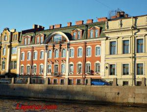 Дом Олсуфьевых (правая часть) — Санкт-Петербург, набережная Фонтанки, 14