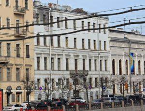 Дом Зиновьева (Дом Абазы) — Санкт-Петербург, набережная Фонтанки, 23