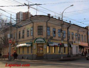 Гостиница «Петербургская» — Саратов, улица Московская, 19
