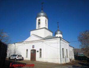 Храм Рождества Христова — Вольск, улица Комсомольская, 32А