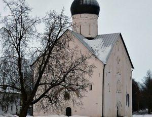 Церковь Спаса Преображения на Ильине улице — Великий Новгород, улица Ильина, 26 корпус 2