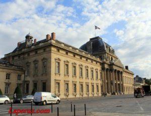 Военная школа (L´ecole militaire) — Париж, Place Joffre