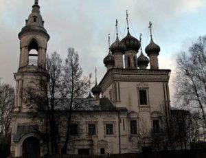 Церковь Сретения Господня — Вологда, Набережная 6-й Армии, 85