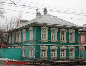 Дом Панёва («Информационно-аналитический центр культуры») — Вологда, улица Герцена, 38