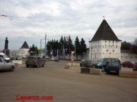 Богородицкая башня — Спасо-Преображенский монастырь в Ярославле