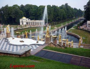 Большой каскад — Петергоф