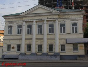 Дом В.С. Парусинова — Саратов, улица Московская, 43