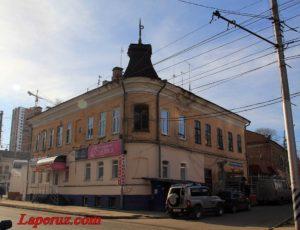 Фабрика сарпинских тканей — Саратов, улица Тулупная, 1