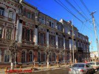 Александровский дворянский пансион (Средняя школа №8) — Саратов, улица Соборная, 33