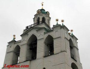 Звонница с церковью Богоматери Печерской — Спасо-Преображенский монастырь в Ярославле