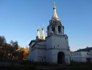 Церковь Владимирской иконы Божией Матери на Божедомке — Ярославль, улица Рыбинская, 44Г